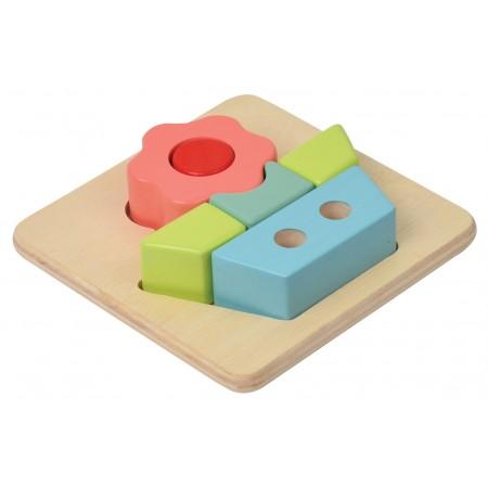 PUZZLE EN BOIS 3D FLEUR
