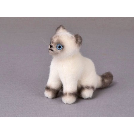 PELUCHE MINI CHATON BIRMAN...