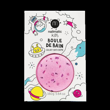 BOULE DE BAIN ROSE - POINTS...