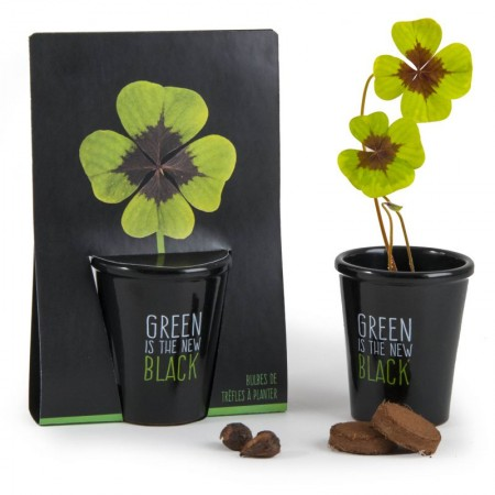 """POT BLACK """"GREEN IS THE NEW..."""