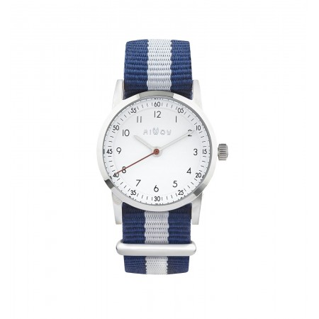 MONTRE FRANCAISE RAYURES