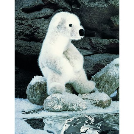 PELUCHE OURS BLANC PM ASSIS...