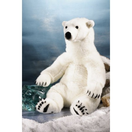 PELUCHE GRAND OURS POLAIRE...