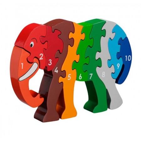 PUZZLE ELEPHANT 1-10