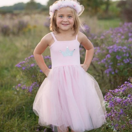 ROBE PRETTY IN PINK 5/6 ANS